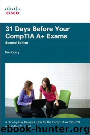 31 Days Before Your CompTIA A+ Exams (Shanette Luellen's Library) by Benjamin Patrick Conry