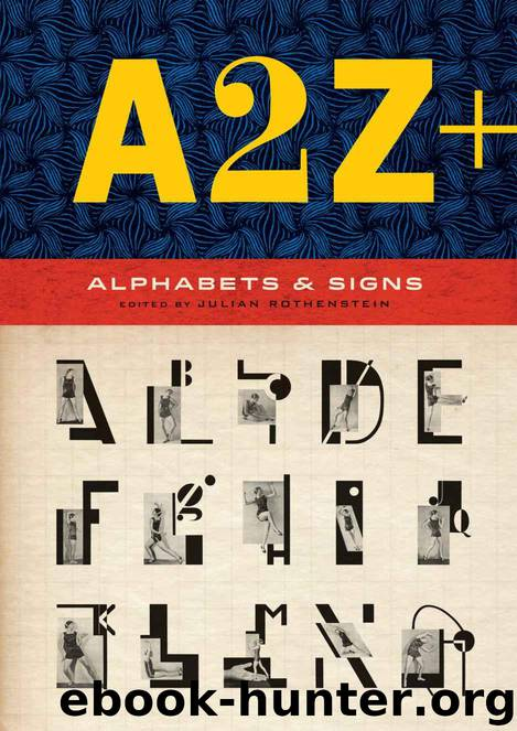 A2Z+: Alphabets & Signs by Julian Rothenstein