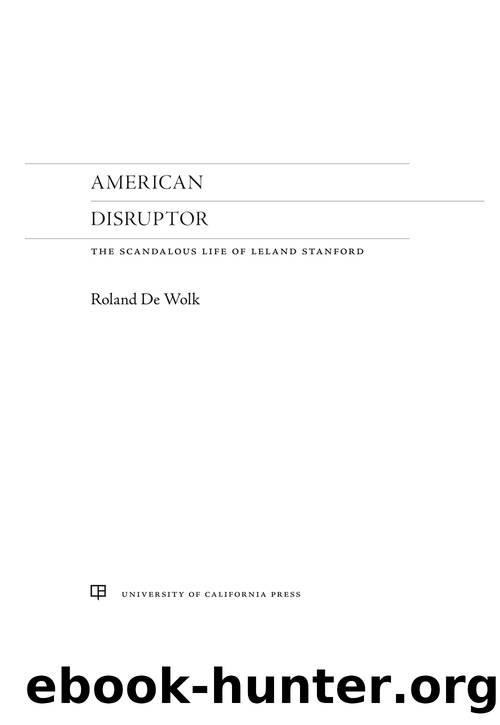 American Disruptor by Roland De Wolk
