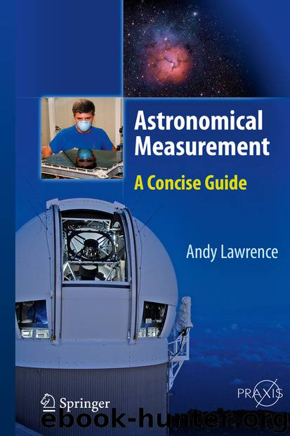 Astronomical Measurement by Andy Lawrence