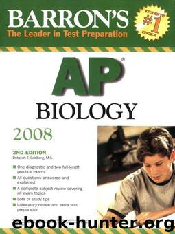 Barron's AP Biology by Goldberg M.S. Deborah T