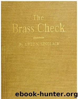 Brass Check by Upton Sinclai