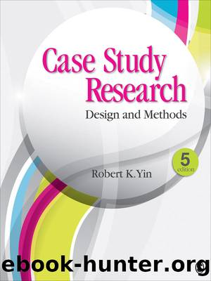 Case Study Research: Design and Methods (Applied Social Research Methods) by Robert K. Yin