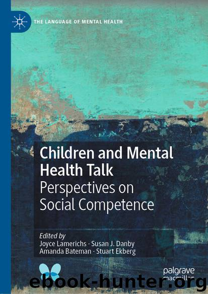 Children and Mental Health Talk by Unknown