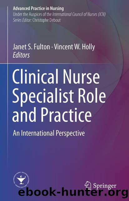 Clinical Nurse Specialist Role and Practice by Unknown