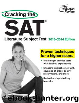 Cracking the SAT Literature Subject Test, 2013-2014 Edition (College Test Preparation) by Princeton Review