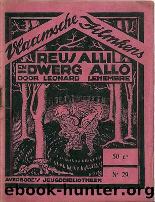 De Reus Alli en Dwerg Allo by Leonard Lehembre