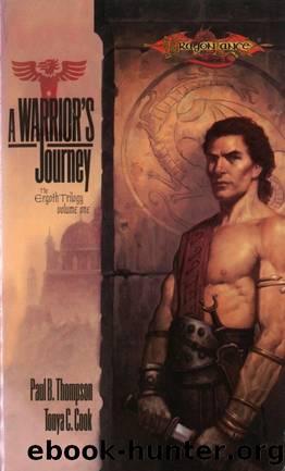 Dragonlance: Ergoth, Book 01 - A Warrior's Journey by Paul B. Thompson