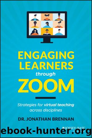 Engaging Learners through Zoom by Jonathan Brennan