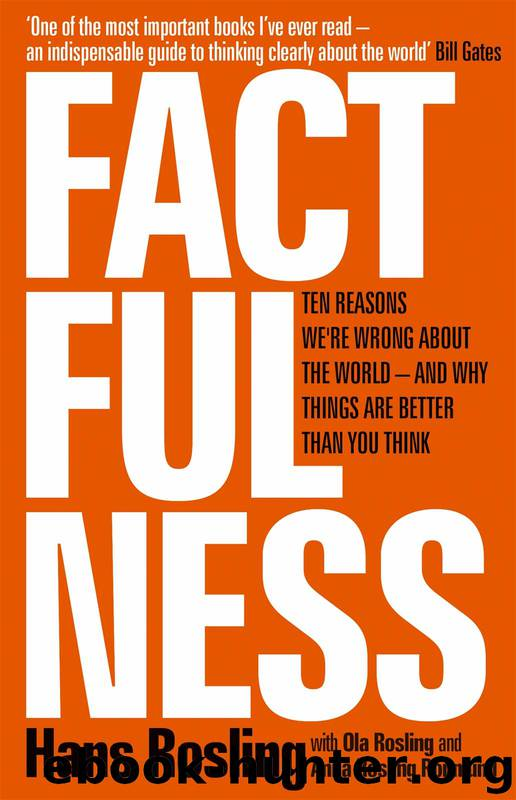 Factfulness_Ten Reasons We're Wrong About the World_and Why Things Are Better Than You Think by Hans Rosling