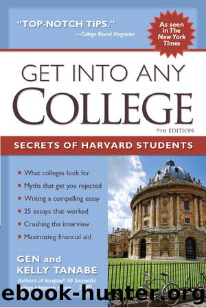 Get into Any College by Tanabe Gen Tanabe Kelly