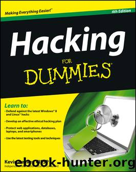 Hacking For Dummies, 4th Edition by CISSP Kevin Beaver