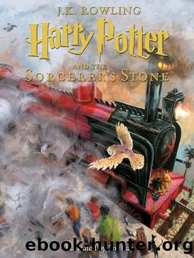 Harry Potter and the Sorcerer's Stone: Illustrated [Kindle in Motion] (Illustrated Harry Potter) by J.K. Rowling