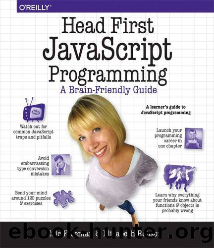 Head First JavaScript Programming by Eric T. Freeman and Elisabeth Robson