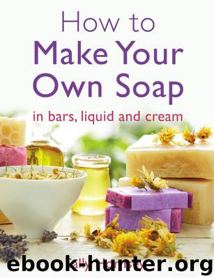 How to Make Your Own Soap by Sally Hornsey