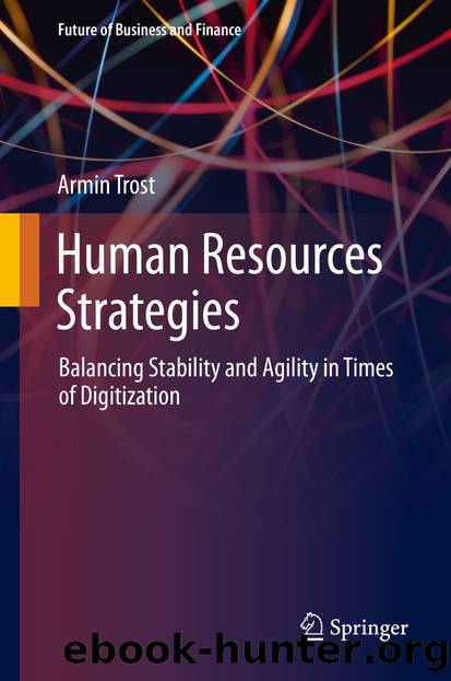 Human Resources Strategies by Armin Trost