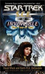 Invincible (Book 2) by David MacK & Keith R. A. DeCandido
