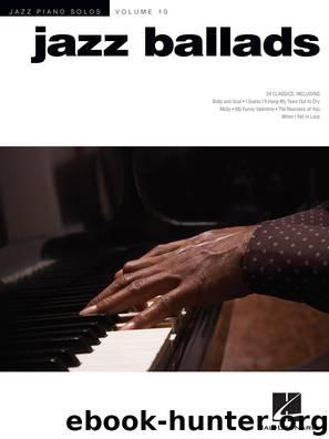 Jazz Ballads by Hal Leonard Corp