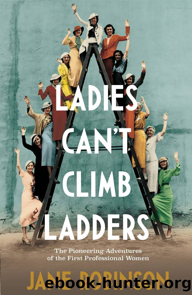 Ladies Can't Climb Ladders by Jane Robinson