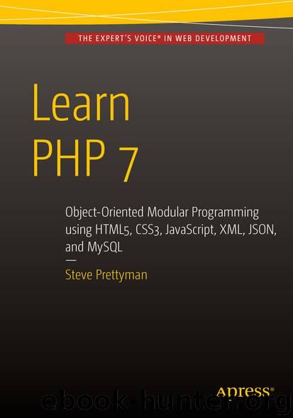 Learn PHP 7 by Steve Prettyman