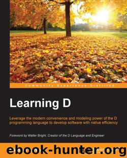 Learning D by 2015