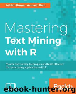 Mastering Text Mining with R by 2016