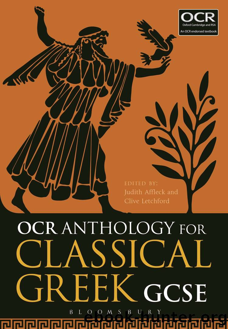 OCR Anthology for Classical Greek GCSE by Judith Affleck and Clive Letchford