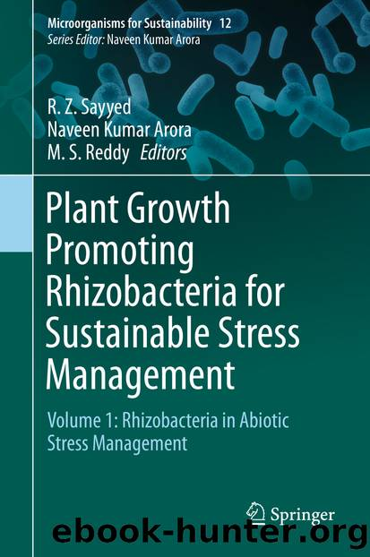 Plant Growth Promoting Rhizobacteria for Sustainable Stress Management by Unknown