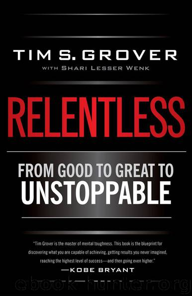Relentless by Tim S Grover