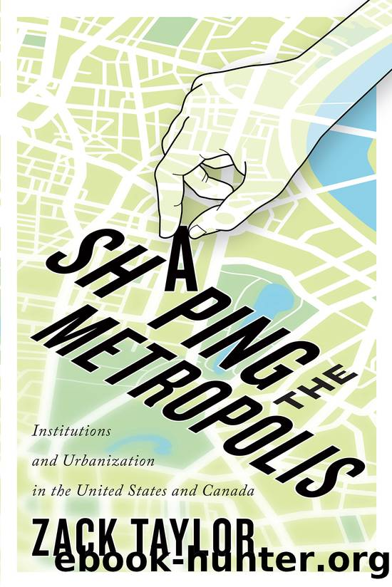 Shaping the Metropolis by Zack Taylor