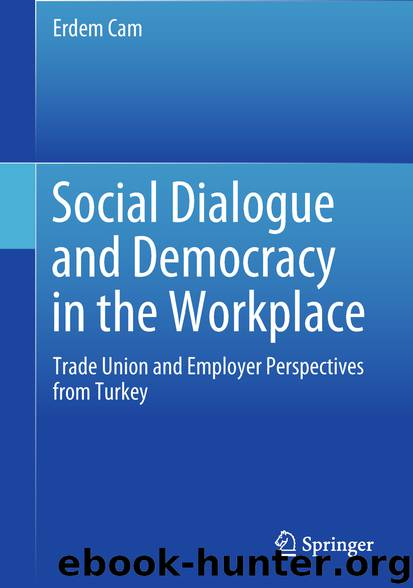 Social Dialogue and Democracy in the Workplace by Erdem Cam