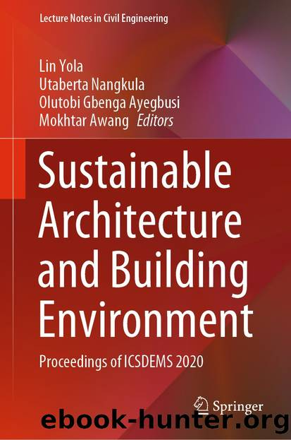 Sustainable Architecture and Building Environment by Unknown