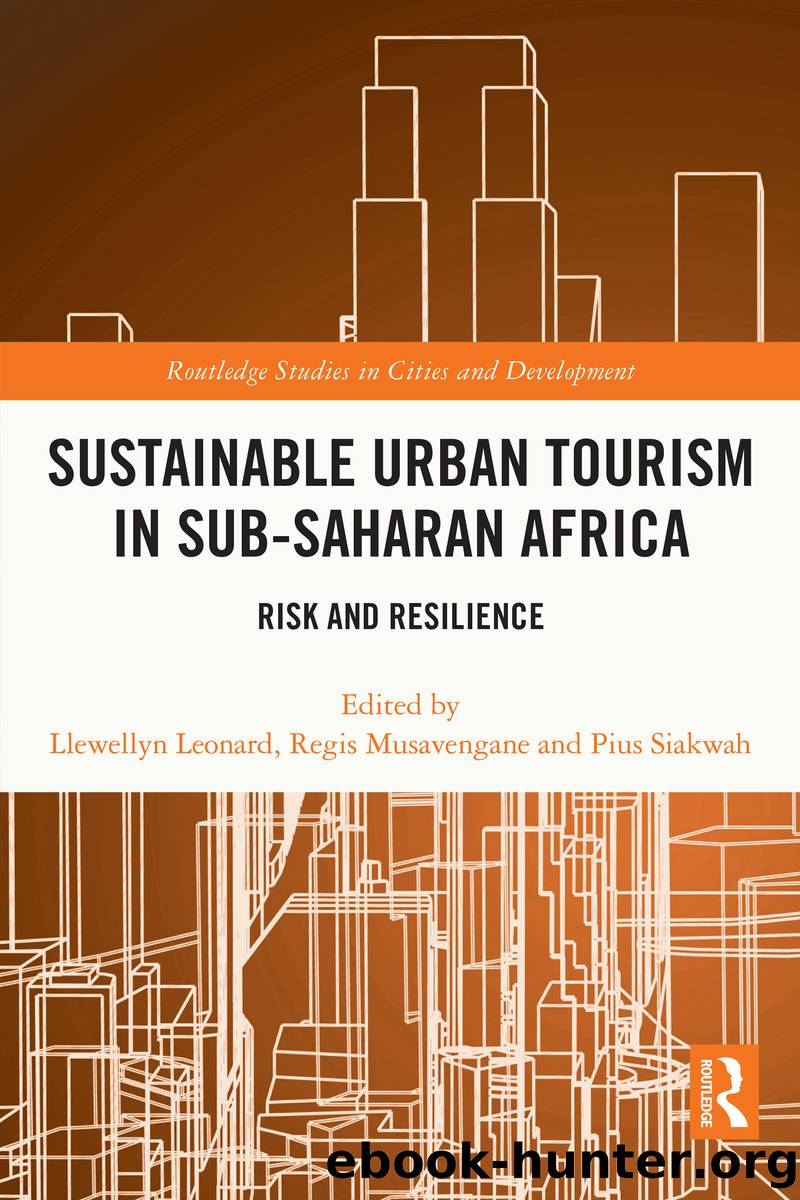 Sustainable Urban Tourism in Sub-Saharan Africa by Unknown