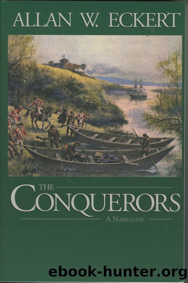 The Conquerors (The Winning of America Series Book 3) by Eckert Allan W