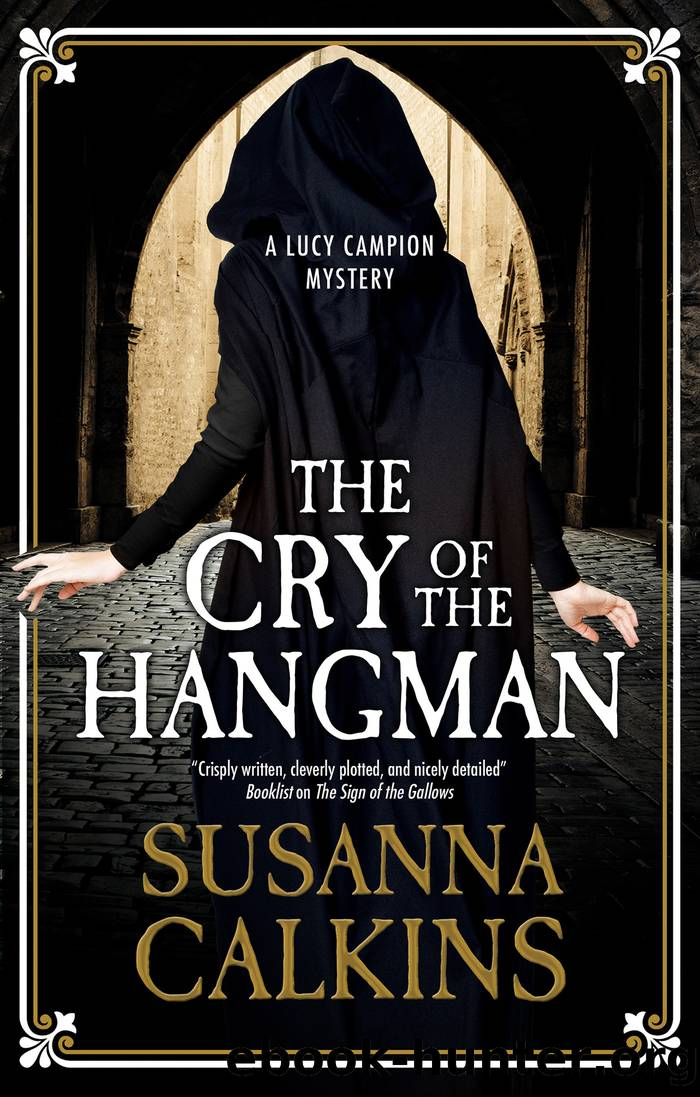 The Cry of the Hangman by Susanna Calkins