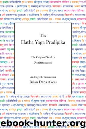 The Hatha Yoga Pradipika (Translated) by Svatmarama