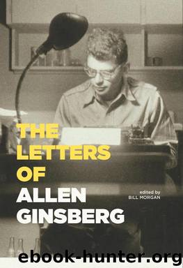 The Letters of Allen Ginsberg by Allen Ginsberg