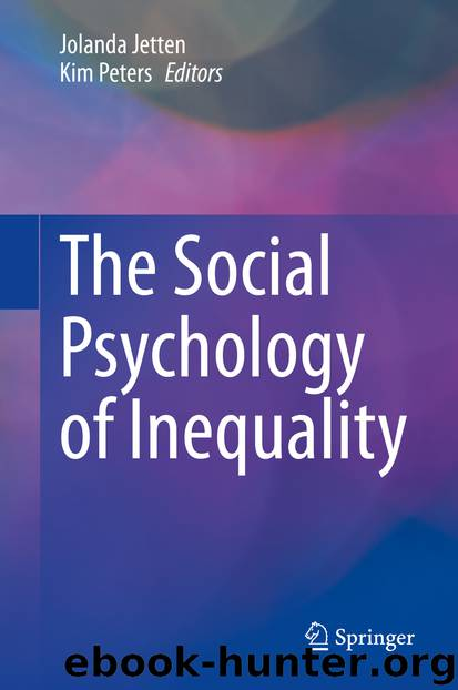 The Social Psychology of Inequality by Unknown