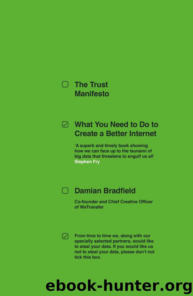 The Trust Manifesto by Damian Bradfield