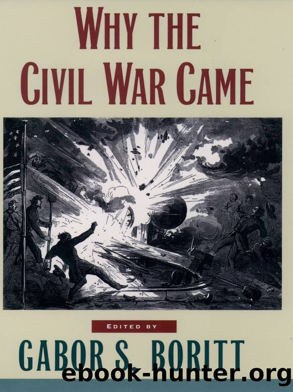 Why the Civil War Came by Boritt Gabor S.;