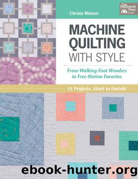 machine quilting with style fr by Unknown